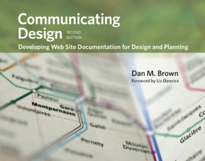 Communicating Design, 2nd edition has a new cover, featuring a close-up map of the Paris metro system.